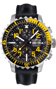 Fortis B42 Marinemaster Yellow Chronograph 671.24.14