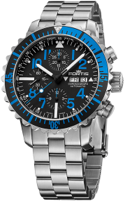 Fortis Marinemaster Blue Chronograph 671.15.45 M