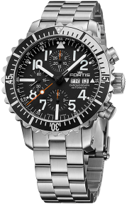 Fortis Marinemaster Silver Chronograph 671.17.41 M