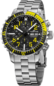 Fortis Marinemaster Yellow Chronograph 671.24.14 M