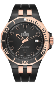 Edox Delfin Automatic Diver Date 80110-357RNCA-NIR