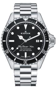 Edox SkyDiver 70s Date Automatic 80112-3NM-NI
