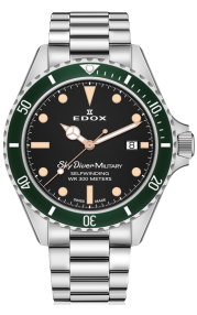 Edox SkyDiver Military Limited Edition 80112-3VM-NIBEI