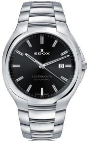 Edox Les Bémonts Ultra Slim Date Automatic 80114-3-NIN