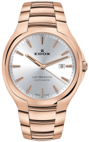 Edox Les Bémonts Ultra Slim Date Automatic 80114-37R-AIR