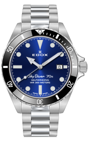 Edox Skydiver 70s Date Automatic 80115-3N1M-BUIN