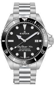 Edox Skydiver 70s Date Automatic 80115-3N1M-NN