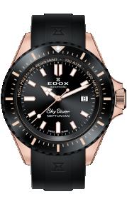 Edox Skydiver Neptunian 80120-37RNNCA-NIR
