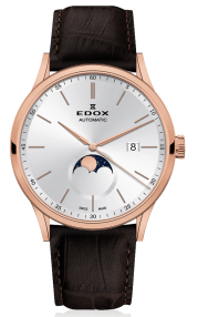 Edox Les Vauberts La Grande Lune Automatic 80500-37R-AIR