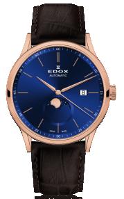 Edox Les Vauberts La Grande Lune Automatic 80500-37R-BUIR