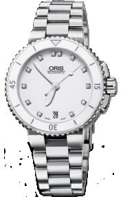 Oris Aquis Date Diamonds 01 733 7652 4191-07 8 18 01P