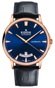 Edox Les Bémonts Automatic Day Date 83015-37R-BUIR