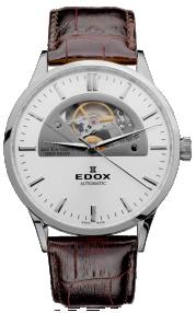 Edox Les Vauberts Open Heart Automatic 85014-3-AIN
