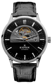Edox Les Vauberts Open Heart Automatic 85014-3-NIN