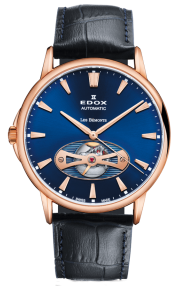 Edox Les Bémonts Automatic Open Heart 85021-37R-BUIR