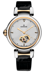 Edox LaPassion Open Heart automatic 85025-357RC-AIR