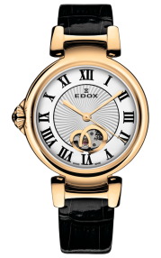 Edox LaPassion Open Heart automatic 85025-37RC-ARR