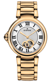 Edox LaPassion Open Heart automatic 85025-37RM-ARR