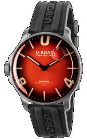 U-Boat Darkmoon 44MM Red SS Soleil 8701