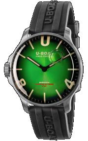 U-Boat Darkmoon 44MM Green SS Soleil 8702