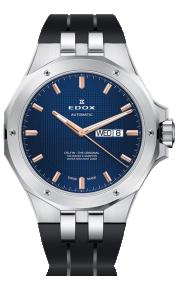 Edox Delfin Day/Date Automatic 88005-3CA-BUIR