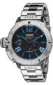 U-Boat Sommerso Blue Metal 9014/MT