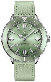 Breitling Superocean Heritage '57 Pastel Paradise Stainless Steel - Mint Green A10340361L1X1