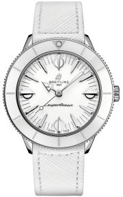 Breitling Superocean Heritage '57 Pastel Paradise Stainless Steel - White A10340A71A1X1