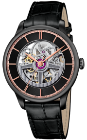 Perrelet Turbine First Class Double Rotor Skeleton Black Edition A1202/1