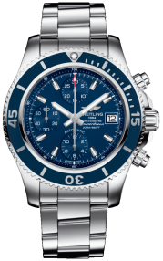 Breitling Superocean Chronograph 42 Steel - Mariner Blue A13311D11C1A1