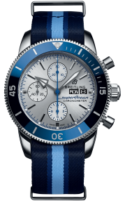 Breitling Superocean Heritage Chronograph 44 Ocean Conservancy Limited Edition Steel - Silver