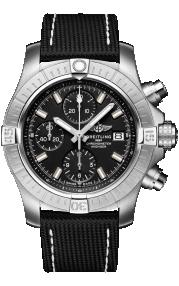 Breitling Avenger Chronograph 43 Stainless Steel Black A13385101B1X1