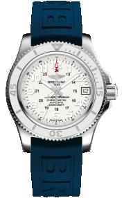 Breitling Superocean II 36 Steel - Hurricane White A17312D2/A775/238S/A16S.1