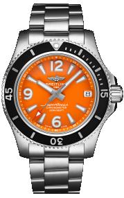 Breitling Superocean Automatic 36 Steel - Orange A17316D71O1A1