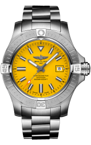 Breitling Avenger Automatic 45 Seawolf Stainless Steel Yellow A17319101I1A1