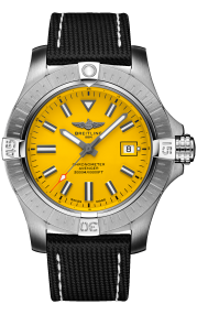 Breitling Avenger Automatic 45 Seawolf Stainless Steel Yellow A17319101I1X2