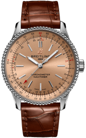 Breitling Navitimer Automatic 35 Steel - Copper A17395201K1P1