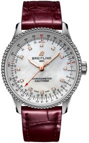 Breitling Navitimer Automatic 35 Steel - Mother-Of-Pearl Diamonds A17395211A1P2