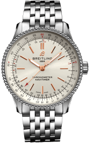 Breitling Navitimer Automatic 35 Steel - Silver A17395F41G1A1