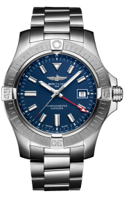 Breitling Avenger Automatic GMT 45 Stainless Steel Blue A32395101C1A1