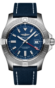 Breitling Avenger Automatic GMT 45 Stainless Steel Blue A32395101C1X1