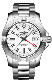 Breitling Avenger Automatic GMT 43 Stainless Steel - White A32397101A1A1