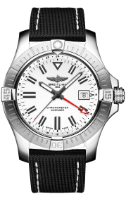 Breitling Avenger Automatic GMT 43 Stainless Steel - White A32397101A1X1