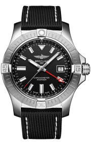 Breitling Avenger Automatic GMT 43 Stainless Steel Black A32397101B1X1