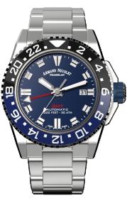 Armand Nicolet JS9-44 GMT A486AGU-BU-MA4480AA