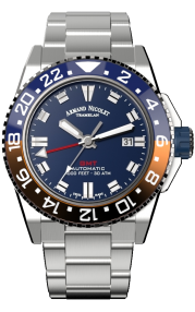 Armand Nicolet JS9-44 GMT A486BGU-BU-MA4480AA