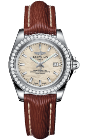 Breitling Galactic 32 Sleek Steel - Mother-Of-Pearl A7133053/A800/211X/A14BA.1