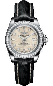 Breitling Galactic 32 Sleek Steel - Mother-Of-Pearl Diamonds A7133053/A801/208X/A14BA.1