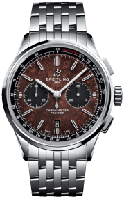 Breitling Premier B01 Chronograph 42 Bentley Centenary Limited Edition Steel - Brown AB01181A1Q1A1