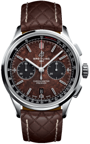 Breitling Premier B01 Chronograph 42 Bentley Centenary Limited Edition Steel - Brown AB01181A1Q1X2